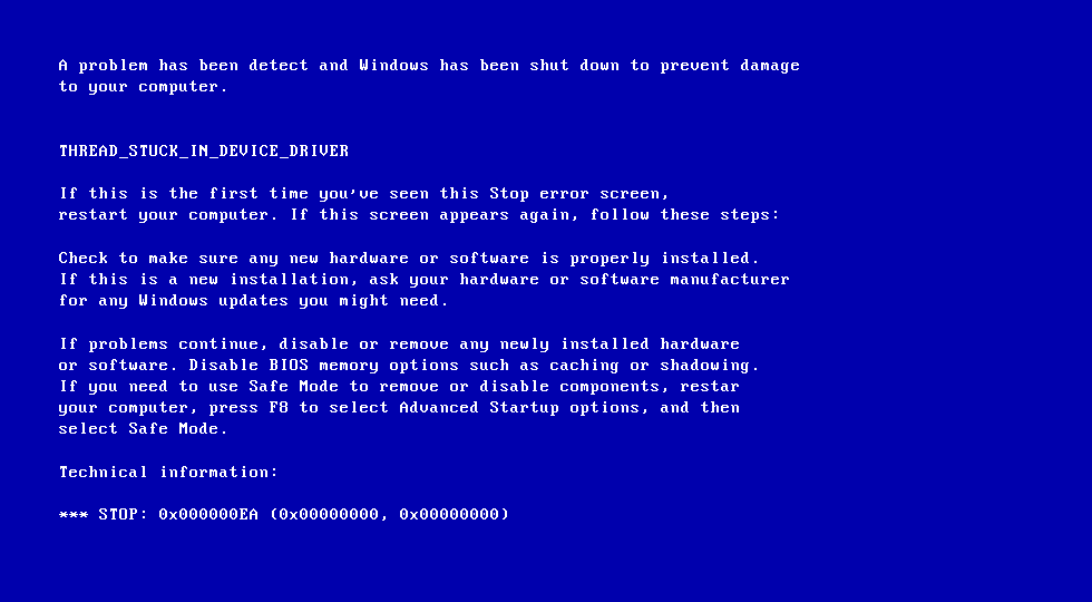 How to fix your blue screen errors in Windows