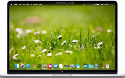 How to Customize The Desktop Picture on a MacBook?