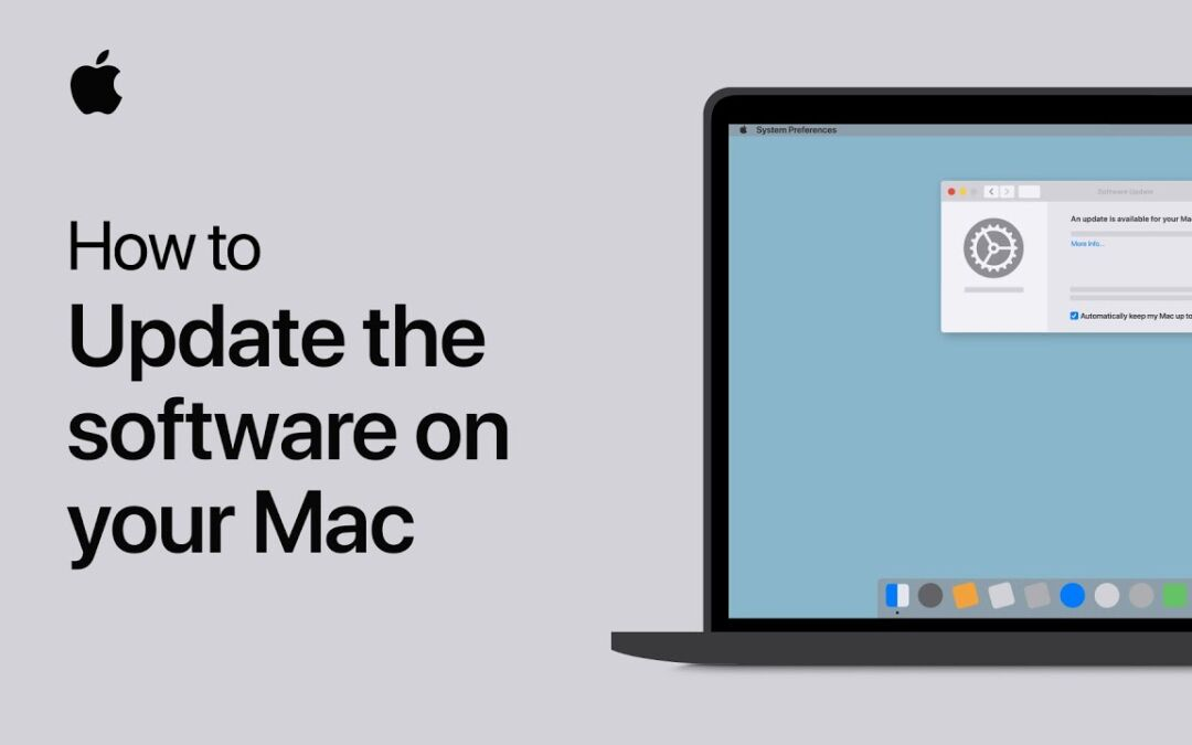 How to Update the Software On MacBook?