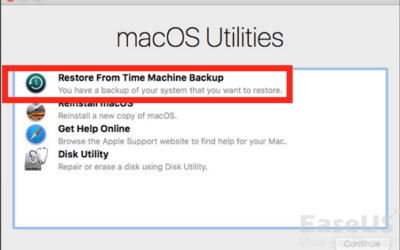 Other Ways to Back up and Restore Files